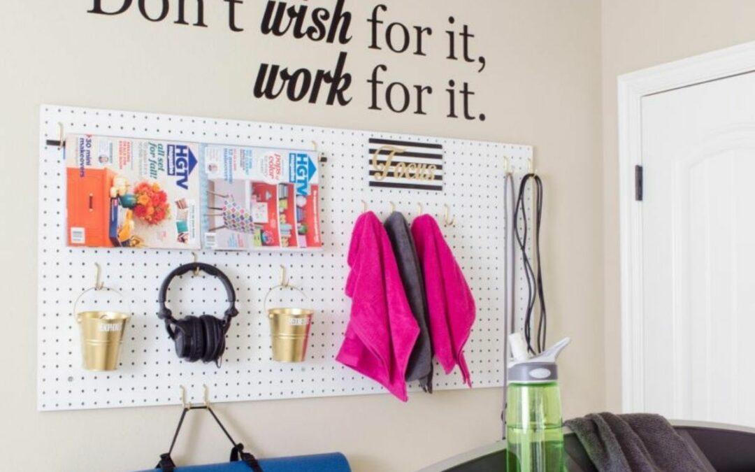 Home Gym Organization: Get Inspired & Keep Sweating!